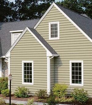 fassadenverkleidung american siding. Black Bedroom Furniture Sets. Home Design Ideas