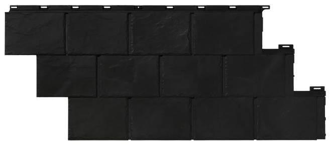 fassadenverkleidung novik schiefer. Black Bedroom Furniture Sets. Home Design Ideas