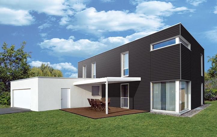 fassadenverkleidung werzalit wpc paneele. Black Bedroom Furniture Sets. Home Design Ideas
